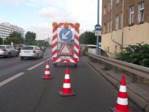 Verkehrsleitsystem Anhänger